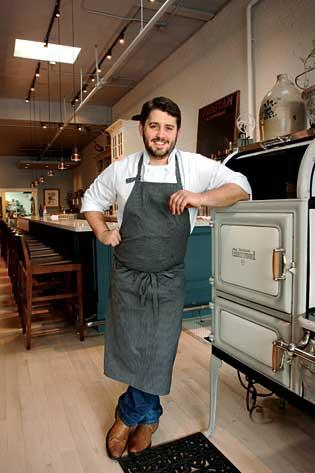 Will Gilson opened Puritan & Co. in Cambridge's Inman Square a few months ago after working as a chef at another Cambridge restaurant for six years.