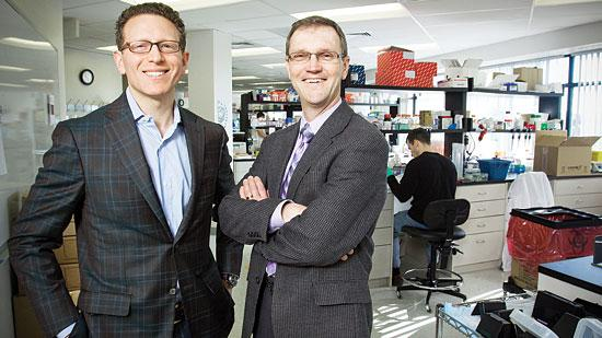 Jason Rhodes, executive vice president and chief financial officer, and Robert Gould, CEO, Epizyme Inc.