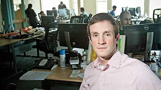 """Justin Borgman, CEO of Hadapt in  Cambridge, says the next phase of analytics is in its """"infancy."""""""