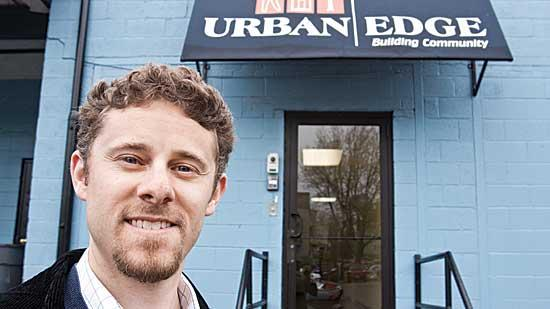 Noah Maslan, real estate director at Urban Edge, is leveraging historic tax credits to build the $20 million Jackson Commons, a mixed-use development in Boston.
