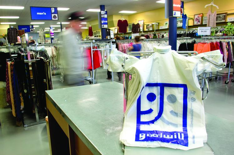 The recently remodeled Goodwill Store on West Broadway in South Boston is seeing brisk sales.