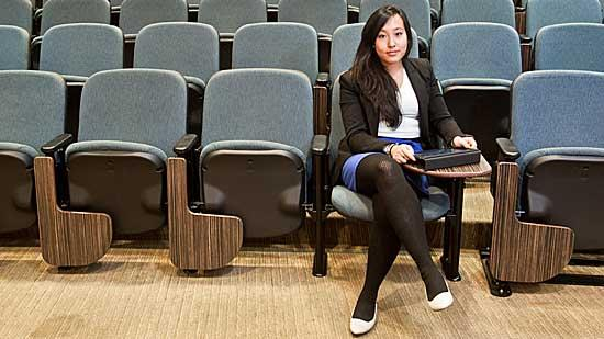 Lisa Huang, a member of Boston University School of Hospitality's class of 2012, will be working as a management trainee in sales at HEI Hotel and Resorts.