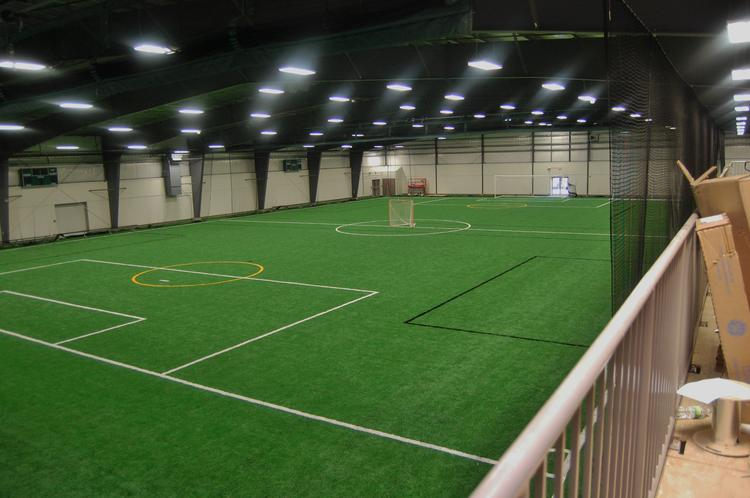 The newly constructed University Sports Complex in Hanover.