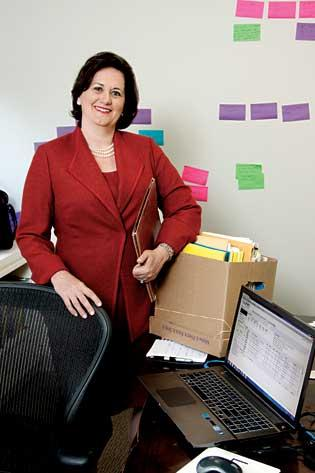 Debra Taylor BlairTitle: President, Listing Information Network Age: 49Education: Bachelor of Science, economics, Northeastern University, 1987 Residence: Boston