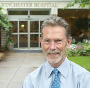 Large business: Winchester Hospital. Pictured: CEO Kevin Smith.