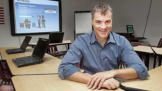 Curriculum Associates is evolving its business with products such as its online tool, i-Ready, said CEO Rob Waldron.