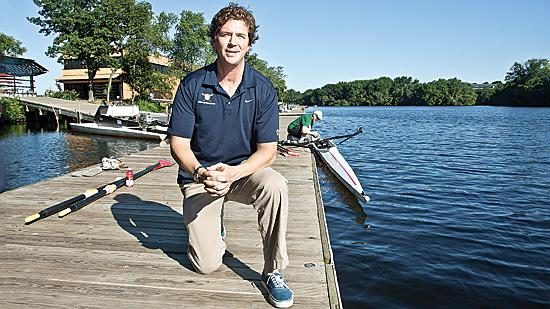"""""""It puts everyone on a level playing field,"""" according to Bruce Smith, executive director of Community Rowing."""