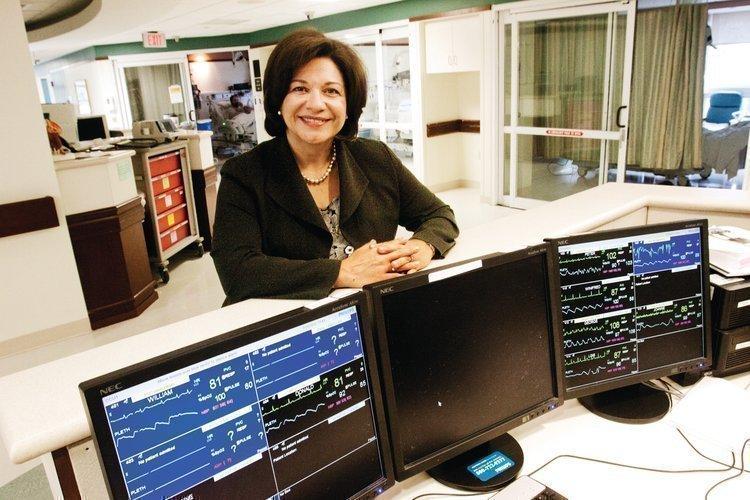 Christine SchusterTitle: CEO, Emerson HospitalAge: 53Education: Bachelor of science, nursing, Boston University, 1982; MBA, University of Chicago, 1989Residence: Sudbury