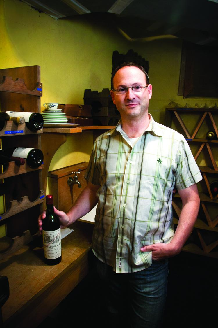 Drync CEO Brad Rosen created a new app to help consumers order their favorite bottle of wine.