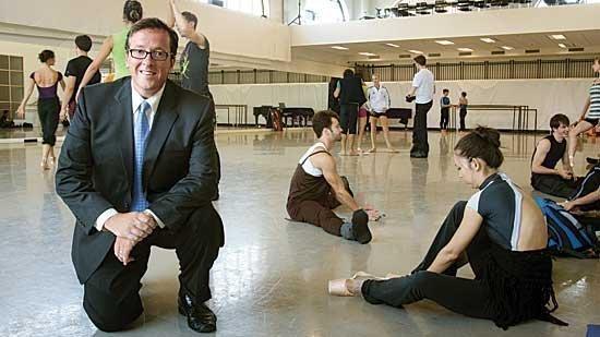 Boston Ballet Executive Director Barry Hughson is on the ground floor of the Ballet's resurgence.