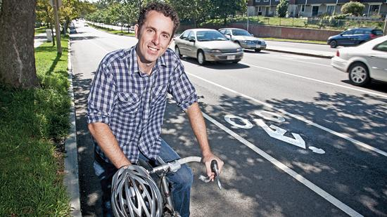 Pete Stidman, director of the Boston Cyclists Union, said the organization is trying to kindle more interest in cycling in Boston's neighborhoods.