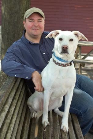 Sasha — a 7-year-old lab mix — served as the inspiration for John Edwards to leave a banking job and start his own dog food business.