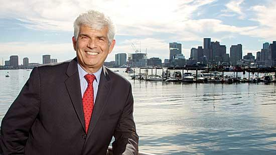 Longtime Massport port director Mike Leone is retiring at the end of the month.