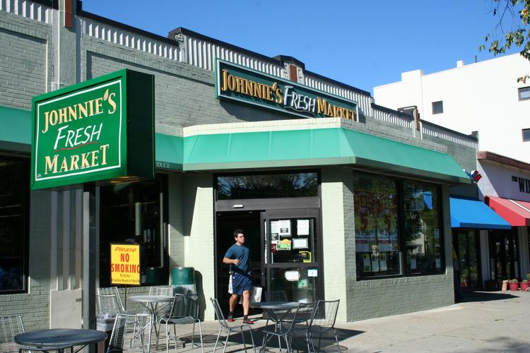 Johnnie's on Beacon Street in Brookline could become a small Whole Foods store.