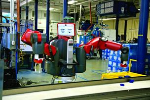 Boston-based Rethink Robotics has developed a human-like robot to automate repetitive tasks.