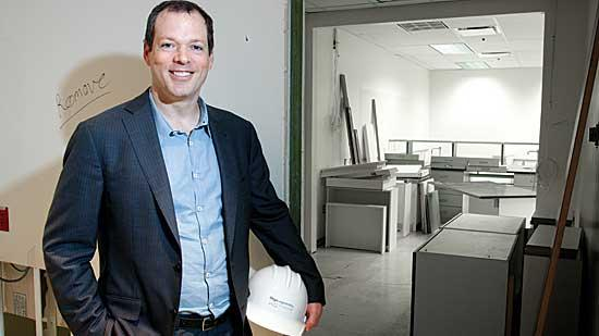 Geoff MacKay, president and CEO of Organogenesis, is overseeing a significant expansion of the company's Canton headquarters and manufacturing campus.