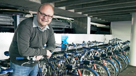 Zagster co-founder and CEO Tim Ericson says he believes the Cambridge startup's bike-sharing service has traction.