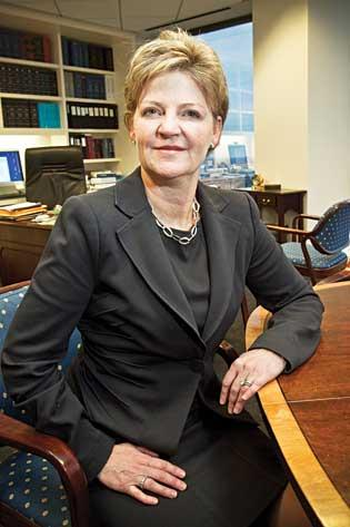 Susan Murley of WilmerHale is the newest woman to lead a major Boston law firm.