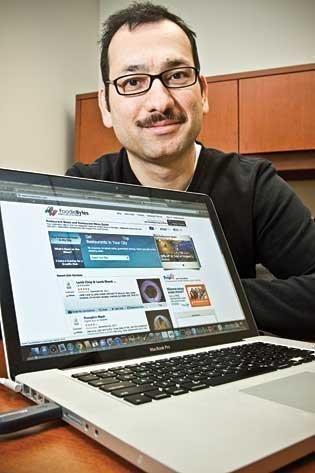 Ajay Bhandari, founder and CTO of FoodieBytes.