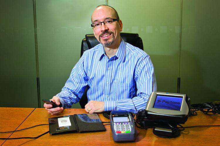 Chris Gardner, co-founder of Paydiant, has big goals for the mobile payments platform provider.