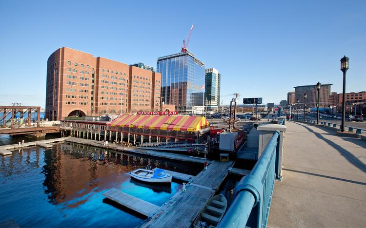 The Innovation District on South Boston's waterfront has seen a slew of construction.