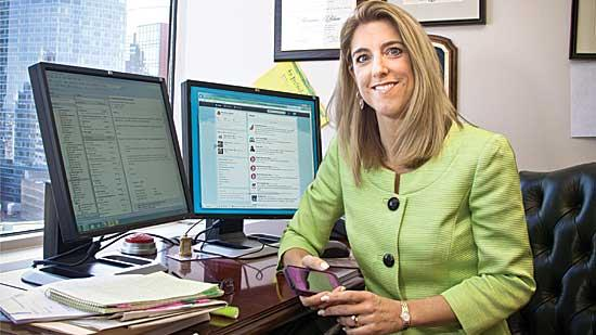 Attorney Marianne LeBlanc of Sugarman and Sugarman tweets what she considers information useful for consumers and says more lawyers should take advantage of Twitter.