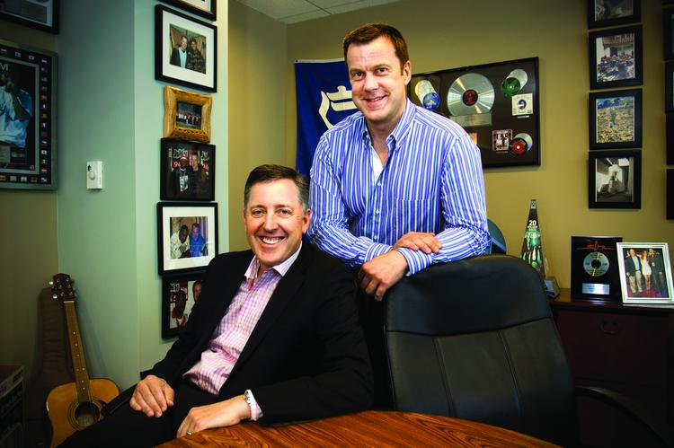 """Rob Williams, vice president and market manager, and """"Cadillac"""" Jack McCartney, director of programming, have helped reshape Greater Media's 96.9."""