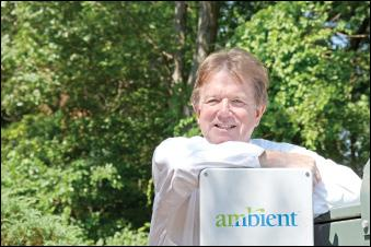 """We were an overnight success in just under 12 years,"" John J. Joyce said of Ambient, which saw a notable year in 2011, including a listing on the Nasdaq exchange."