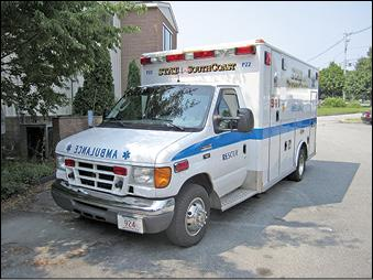 Stat Ambulance claims to be the only ambulance company on the South Shore to have bariatric equipment.