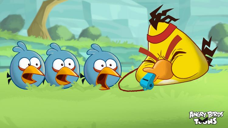 """Rovio, maker of the """"Angry Birds"""" mobile game, in March introduced a cartoon series based on the game. The series uses Brightcove technology to play inside the Angry Birds app."""