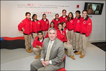 Eighteen years after serving as a volunteer for City Year, Sean Holleran is the organizations chief operating officer.
