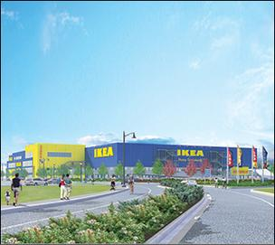 A rendering of IKEA's plan for a Somerville store at Assembly Square. IKEA has formally dropped the plan, according to a report.