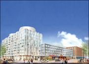 No. 1, Elkus Manfredi Architects. 2011 Mass. architectural billings: $30.3 million. Pictured: An artist's rendering of a proposed plan for the former Boston Herald site in the South End neighborhood of Boston.