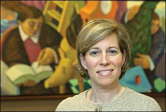 Joan Tagliareni is head of recruiting at Goodwin Procter. Law firms have picked up hiring.