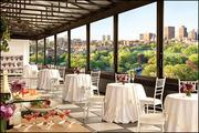The Taj serves a champagne brunch on its rooftop every Sunday beginning in April.
