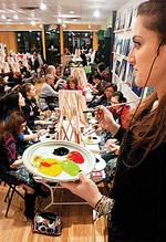 Art bars' brush with success