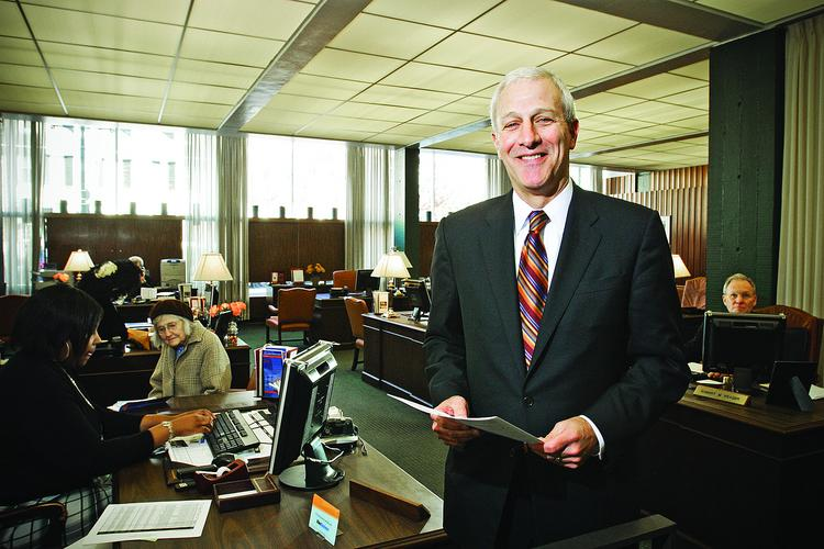 """""""Not everyone is a W-2 person,"""" said Joe Roller, president and CEO of Cambridge Trust Co."""