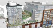 An artist rendering of the mixed-use development slated for 1325-1341 Boylston St. in the Fenway neighborhood.