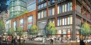The planned 700,000-square-foot development dubbed Boylston West in the Fenway neighborhood.