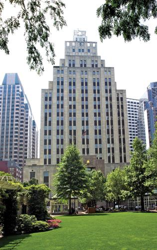 """Long known as """"the Verizon Building,"""" 50 Post Office Square will soon be the home of Brown Bros. Harriman."""