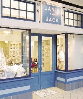 Janie and Jack, the children's clothing store, is moving to the Mall at Chestnut Hill in Newton, Mass. from the former Atrium Mall.