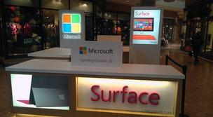 Microsoft plans to open a 3,000-square-foot store at the Natick Mall later this year.