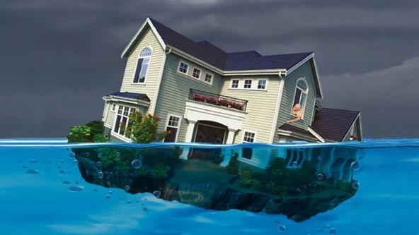 """The number of """"underwater"""" mortgages dropped in first quarter of 2013 from the previous quarter, according to data firm CoreLogic, down to 13 percent, or 50,292 of all residential properties in the Charlotte-Gastonia-Rock Hill metro area."""