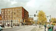 DeNormandie Cos. and Cresset Group have teamed up on an apartment building for Parcel 9.