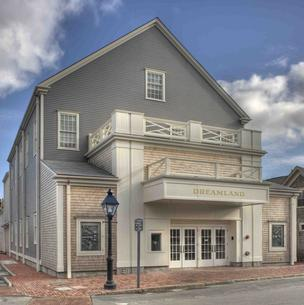 Exterior of new Dreamland Theater, set to open on Nantucket in June.
