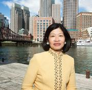 """Vivian Li, executive director, Boston Harbor Association: """"Dorchester is the next frontier. there are lots of opportunities on parcels along the Red Line. South Station is just three stops away from the JFK station."""""""