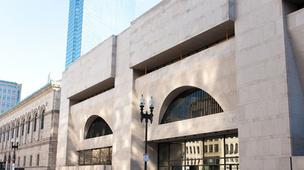 The Boston Public Library's Copley Square branch is considering adding retail to the Johnson Building.