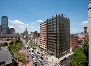 Four leases signed at 535 and 545 Boylston Street in Boston's Back Bay.