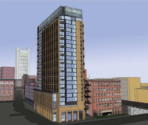 A groundbreaking is set for Thursday at 319 A Street Rear in Boston's Seaport District.