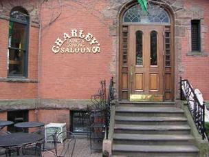 The former Charley's restaurant on Newbury Street in Boston's Back Bay. The chain abruptly closed its last location, a restaurant in the Mall at Chestnut Hill, Friday.